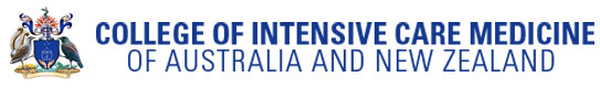 College of Intensive Care medicine of Australia and New Zealand logo
