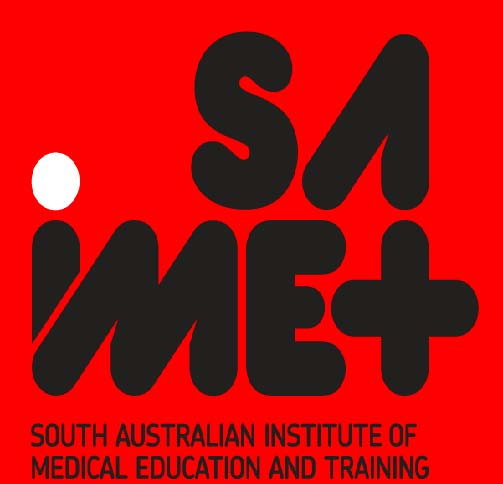 South Australian Institute of Medical education and Training logo